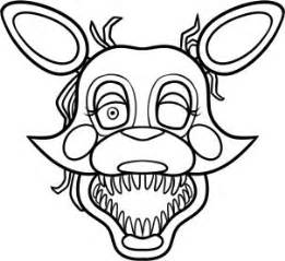 Foxy 5 nights five nights freddy draw mangle draw fnaf draw sketches