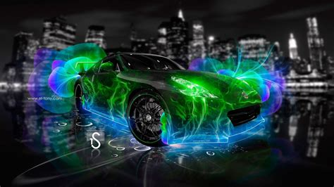 Cool Car Wallpapers For Desktop 3d Animal Pictures by Neon Green Wallpapers Wallpaper Cave