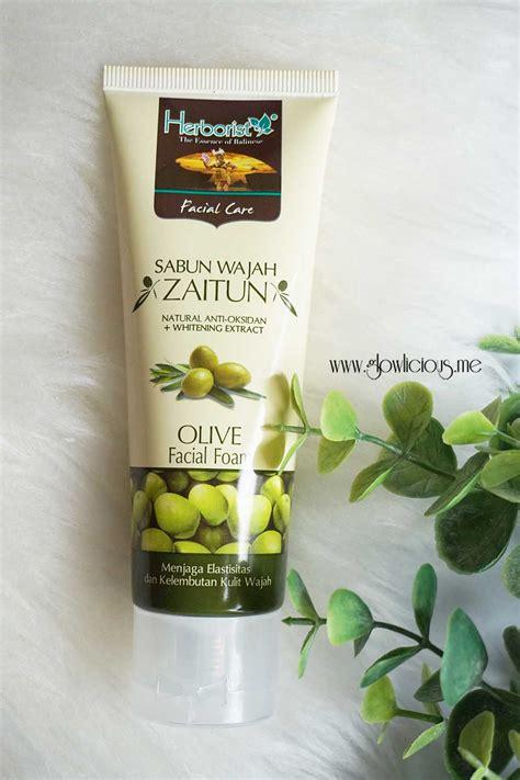 Sabun Muka Hijau merawat kulit dengan herborist zaitun series glowlicious me indonesia and lifestyle