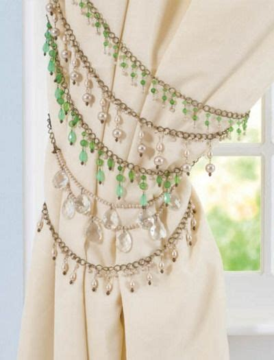 how to make tiebacks for curtains 1000 ideas about curtain tie backs on pinterest curtain
