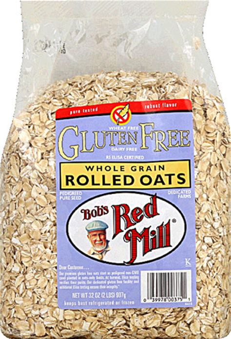 Bob S Mill Organic Cooking Rolled Oat Whole Grain bob s mill gluten free whole grain rolled oats 4 48