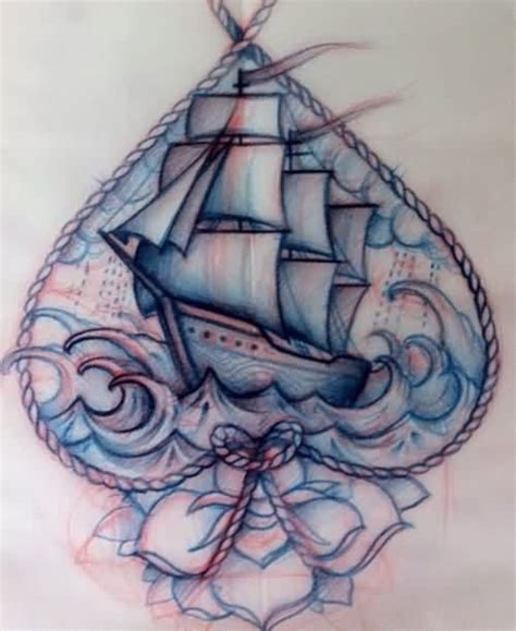 tattoo old school barco sketch of sailboat pictures to pin on pinterest tattooskid
