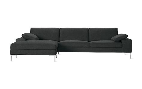 dwr sectional arena sectional with chaise design within reach