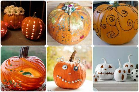 come decorare la zucca di halloween 15 idee originali - Decorare Zucche Di Halloween