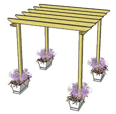 simple pergola plans free easy pergola plans pdf easy outdoor playhouse