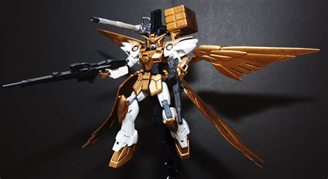 gundam wing golden age zero custom painted by rujave18