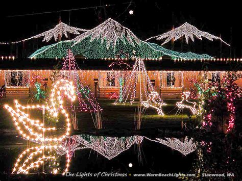 The Lights Of Christmas Festival 2017 Lights Stanwood