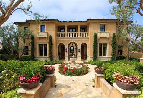 Home Design Italian Style mediterranean homes styles