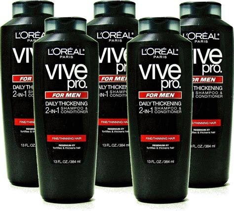 buy l oreal vive pro for daily thickening shoo pack of 2 at low prices in l oreal vive pro for 2 in 1 daily thickening shoo and conditioner ebay