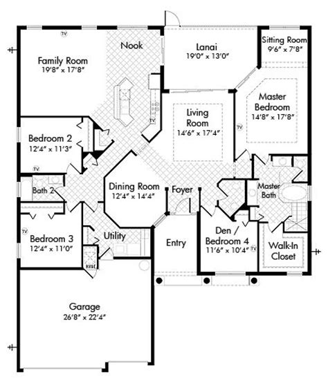 10 best images about lennar floor plans on 3
