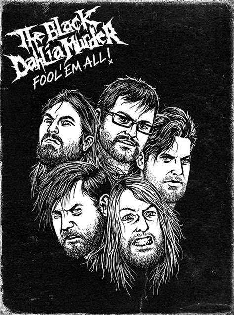 Black Dahlia Murder Ukuran S The Black Dahlia Murder Announce Quot Fool Em All Quot Dvd