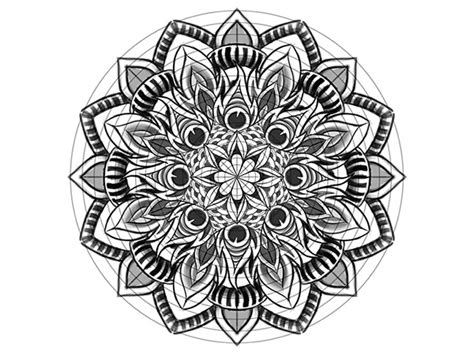 mandala templates for photoshop illustrate a custom mandala skillshare class on behance