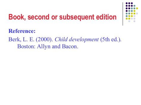 apa reference book second edition apa a