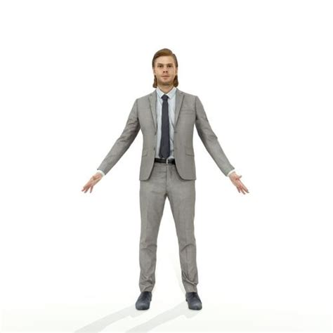 Desk Design Castelar boy 3d model full body rigged model rendred in 3ds max and