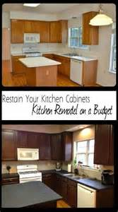 can you restain kitchen cabinets 25 best ideas about restaining kitchen cabinets on