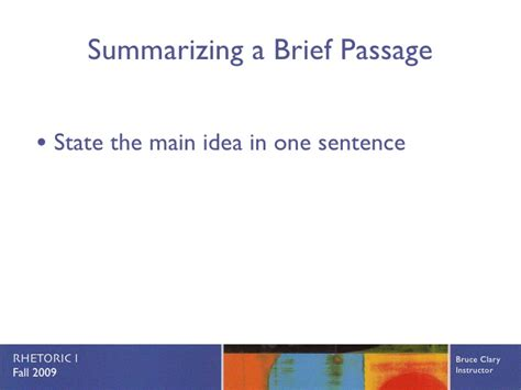 design brief used in a sentence active reading
