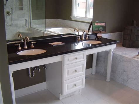 wheelchair accessible vanity handicap accessible ideas