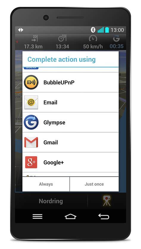 glympse android umfangreiches update der navigon apps und preisaktion