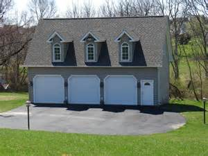 3 Car Detached Garage three car detached garage pole barn garage designs pinterest