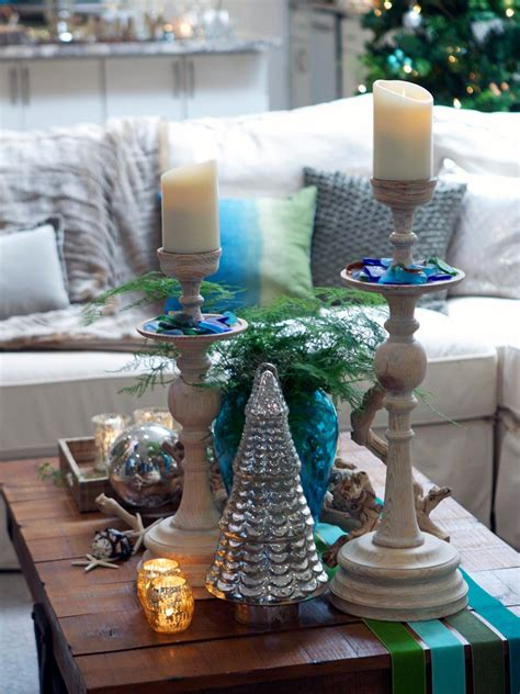 decorating coffee table for christmas ponterest photo page hgtv
