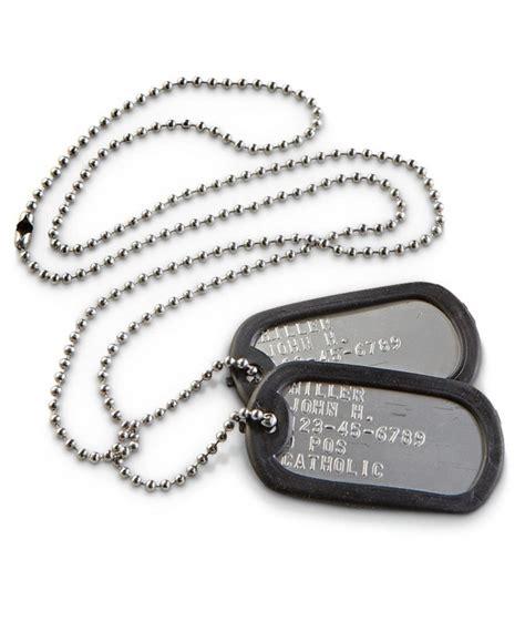 chapas militares dog tag personalizadas s 243 lo 12 95 - Chapas Militares Panama