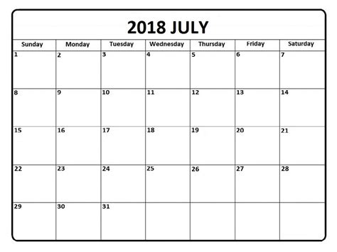 Calendar 2018 Template Philippines July Calendar 2018 Philippines Free Printable Templates