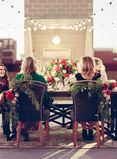 backyard christmas party an outdoor christmas party the everygirl