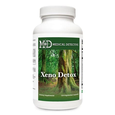 Detox In Maryland by Xeno Detox 120 Capsules Detective Md
