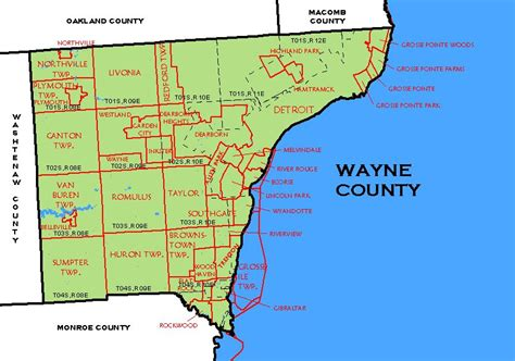 Wayne County Mi Records Michigan Wayne County 171 Every County