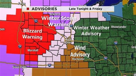 winter storm warning and winter weather advisory in effect until snow and wind make for slippery roads low visibility in