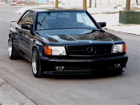 1990 mercedes 560sec amg 6 0 widebody is badass but