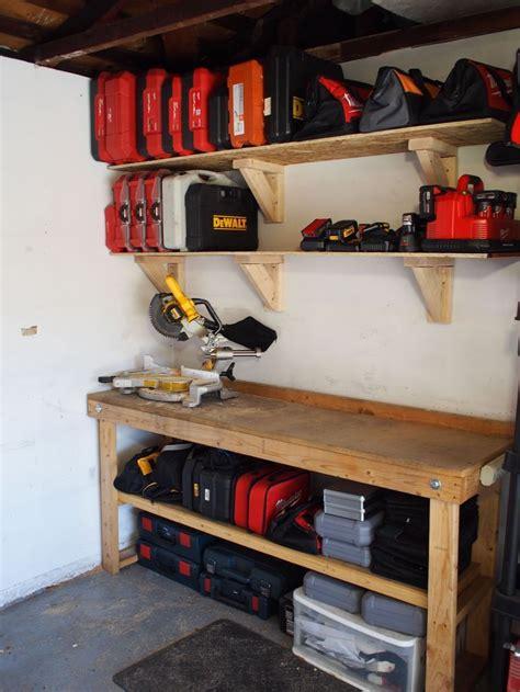 build garage storage shelves   cheap garage