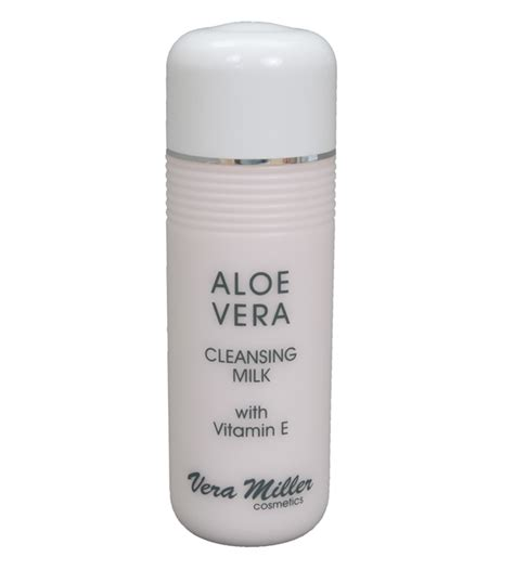 Milk Cleanser With Aloe Vera Extract aloe vera cleansing milk 250 ml vera miller cosmetics gmbh