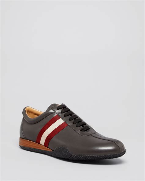 bally sneakers mens bally frenz sneakers in gray for lyst