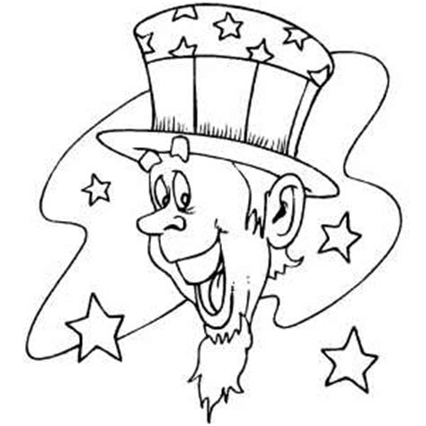coloring page uncle sam uncle sam head coloring page