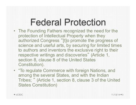 united states constitution article 1 section 8 intellectual property for small businesses