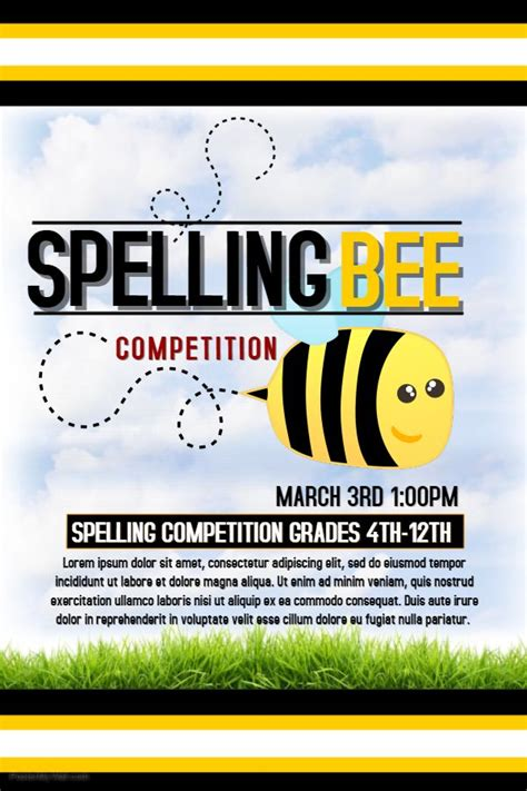 Invitation Letter For Quiz Bee 25 Best Ideas About Spelling Bee On Bee Www Bee And Bee