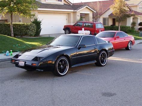 nissan 1986 modified nissan 300zx modified black pixshark com images