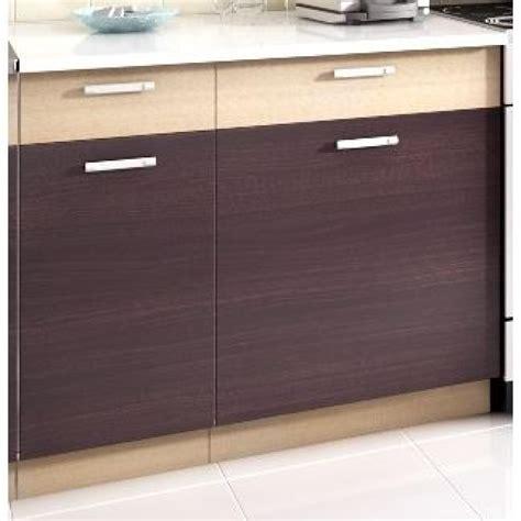 cuisine kit pas cher topaze noyer 1m60 4 meubles kit cuisine mod achat vente cuisine complete pas cher