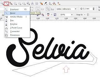 membuat imb baru desain teks tipografi dengan mudah di coreldraw kumpulan