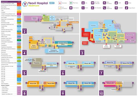 floor plan of hospital map and floor plan of hospital yeovil district hospital