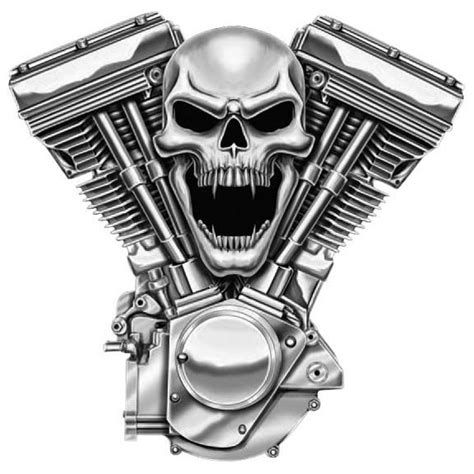 motor skull lethal threat skull motor embroidered patch pack of 3