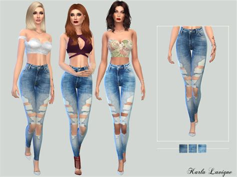 sims 4 clothing for females sims 4 updates andy jeans by karla lavigne at tsr 187 sims 4 updates