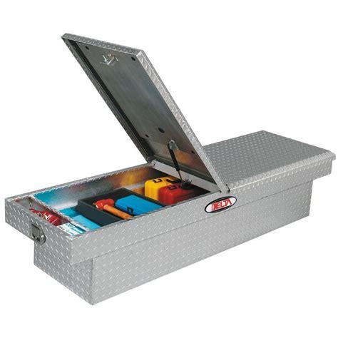 delta tool box delta delta 70 in aluminum mid lid dual lid size crossover tool box 1 306000 the
