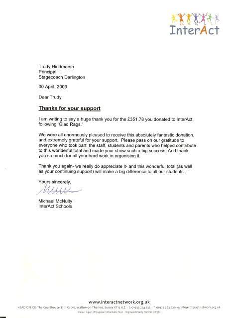 acknowledge receipt letter template