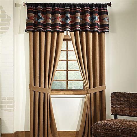 bed bath and beyond santa fe veratex santa fe window curtain panel and valance bed