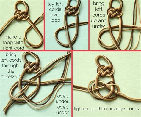 How To Make Cool Knots - wonderful diy cool knotted bracelet knot bracelets diy