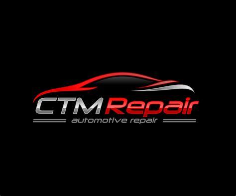 design a garage logo bold serious logo design for ctm repair by artoku