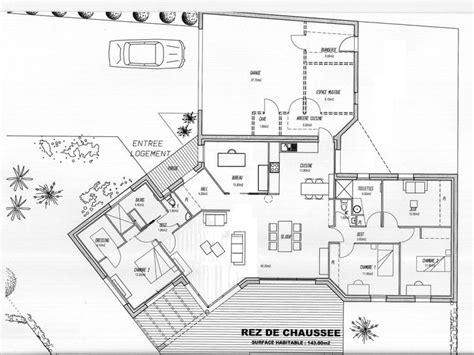 plan maison 騁age 4 chambres les 25 meilleures id 233 es tendance plan maison 4 chambres