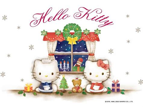 hello kitty holiday wallpaper free hello kitty christmas wallpaper wallpapersafari